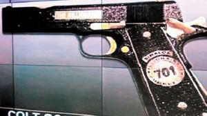 El Chapo's gun