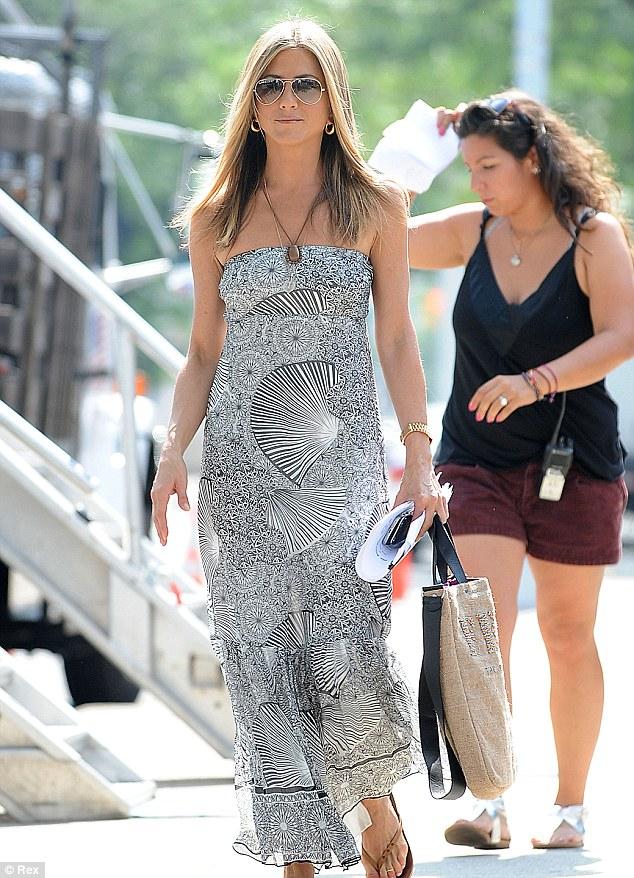Jennifer Aniston at Cabo San Lucas