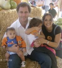Marcus Santamaria & family