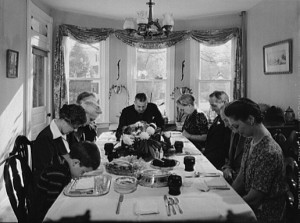 Thanksgiving back in olden times - 1942