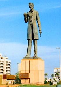 Statue of Lincoln in Tijuana
