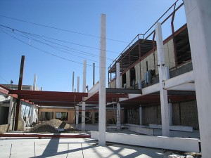 Los Algodones New Building