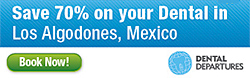 Visit Los Algodones, Mexico and Save up to 70% on your dental care.  Get your Free Quote!
