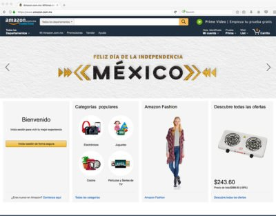 Amazon in Mexico
